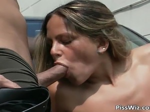 These two hot babes are getting fucked